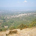 Bonnieux from the Forest of Cedars