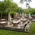 Italian restaurant area