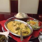 lamm mughlai - ultra-cremig-mild mit cashewsoße.