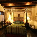 Bed at night, Mary Sue Suite