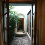 Private patio Mary Sue Suite