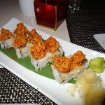 Spicy Tuna Roll with Sweet and Spicy Sauce