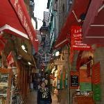 """Main street"" Mont St-Michel"
