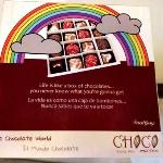 Choco Museo message, and it's true