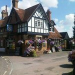 Polhill Arms in the summer sun