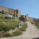 Gormaz, 47 km. Fortaleza Califal. Impresionante.