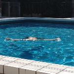 le piscine...