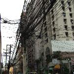 Mabini street hotel on the right of the street 2009