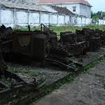 Military Hardware outside the museum