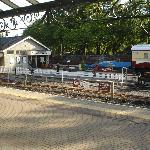 View onto Betws-y-Coed railway platform