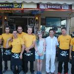 Kayleigh and the great staff at Natalie`s Steakhouse