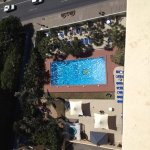 pool from the 17th floor
