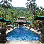 The spa resort which is located away from the resort itself