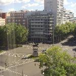 view of Paseo de la Castellana
