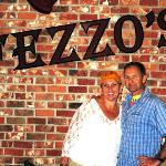 Ernie and me at Fezzo's in Scott, Louisiana, June 2010