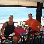 Lunch at Lido Beach in Bordighera