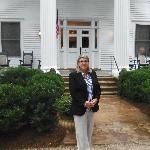 Me in the front of Madison Oaks Inn