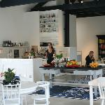 Restaurant at design store Droog