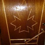 Cool door motif