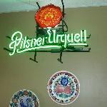 Pilsner Urquell sign