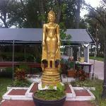 statue near entrance