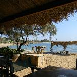View from Spiaggia Taverna