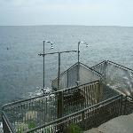 Beach - stairs