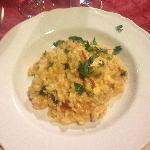 Dinner - Seafood risotto