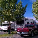 Our site at Railside RV Ranch