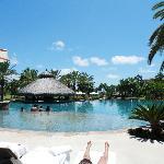 impresionantes vistas desde la piscina