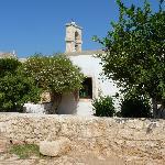 Small monastery chapel