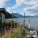 view of Seward from cabin