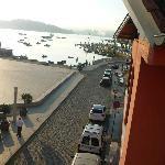 Vista del puerto.