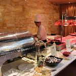all you can eat hot buffet breakfast