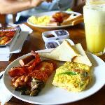 desayuno espectacular
