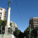 Vista del hotel desde la Plaza de Las Batallas