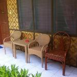 mismatch outdoor furniture