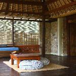 Terraza habitación Duyung