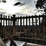 terrasse de la la chambre