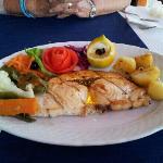 Fresh grilled swordfish...YUM!