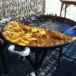 Huge paella pan!!