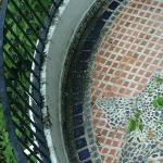 Balcón con moho
