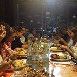 cena di squadra :)