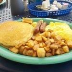 Bazzies breakfast combo