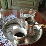 You will not only get tea, but also delicious Bosnian coffee and more