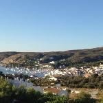 vue de la chambre 415 de l'hotel S'Aguarda, Cadaques