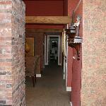 Hallway in suite