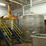 The main brewing tanks