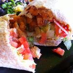 Bangin Chicken Burrito