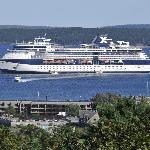 Cruise ships a plenty!